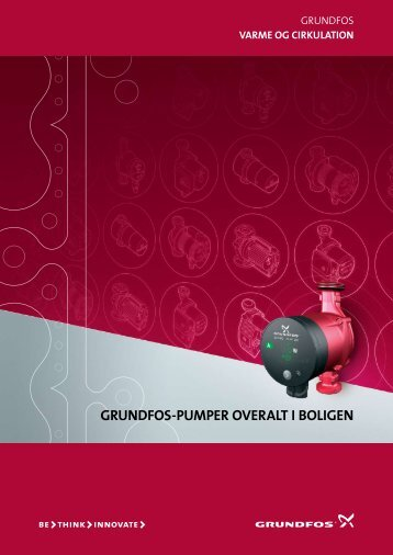 GRUNDFOS-PUMPER OVERALT I BOLIGEN - luft