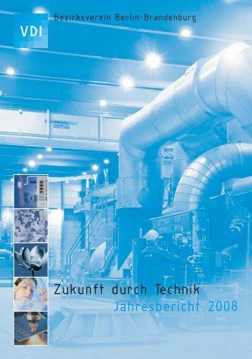 Der Bericht 2008 - (VDI) Berlin-Brandenburg