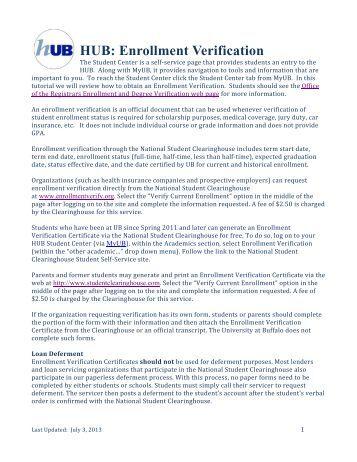 Transcripts and enrolment verifications in schools