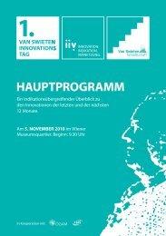 HAUPTPROGRAMM - Van Swieten Gesellschaft