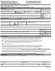 Federal Employee's Notice of Traumatic Injury and Claim for ...