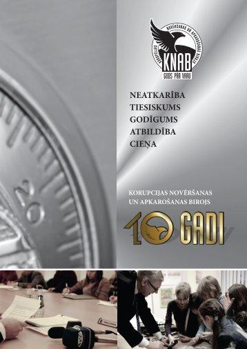 10 gadi - KNAB
