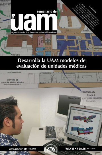 Desarrolla la UAM modelos de evaluación de unidades médicas