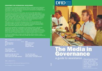 Media in Governance - amarc