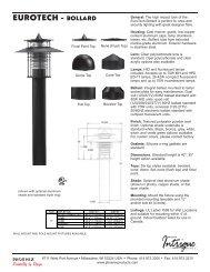 N5610317G Eurotech Bollard.indd - Phoenix Products