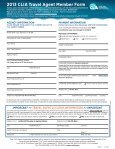 TRAVEL AGENT MEMBERSHIP - Page 2