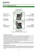 Schneckengetriebe RS u. RT - Seite 4