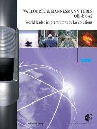 VALLOUREC & MANNESMANN TUBES OIL & GAS ... - VAM Services
