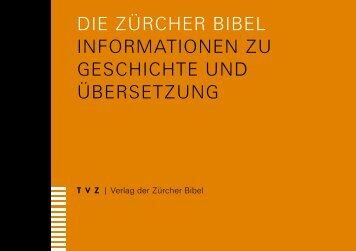 Informationen zu Geschichte und Übersetzung - TVZ