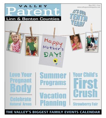 May - Valley Parent Magazine