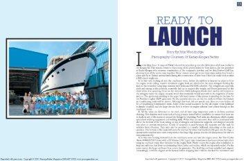 Ready to Launch - Kadey-Krogen Yachts