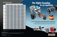 Coupling Flyer (PDF) - McGuire Bearing Company