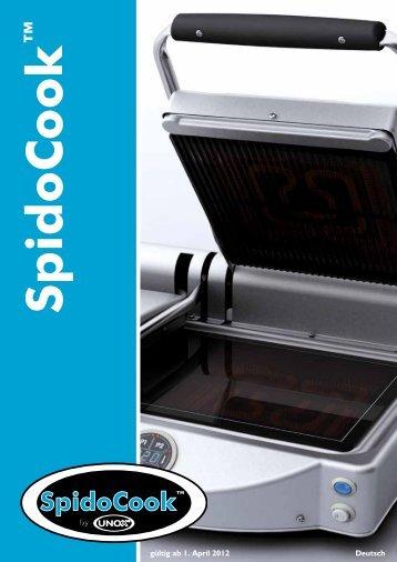 SpidoCook - Unox-Oefen