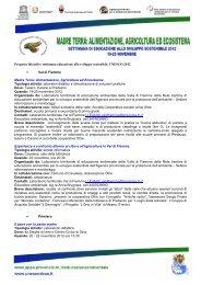 La Rete trentina di educazione ambientale per lo sviluppo ...