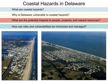 Coastal Hazards in Delaware - Delaware Department of Natural ...