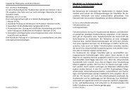 Merkblatt zur Scheinvergabe im Studium fundamentale