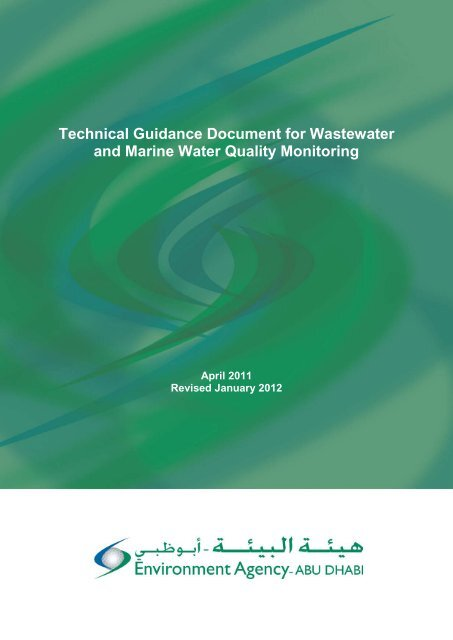 Technical Guidance Document for Wastewater and Marine Water ...