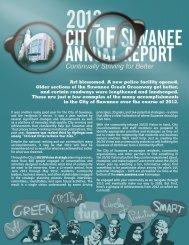 Annual Report - Suwanee, Georgia