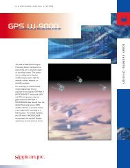 GPS W-9000 Processing System - Sippican, Inc.
