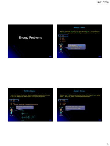 Energy Problems - The Burns Home Page