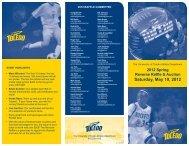 Saturday, May 19, 2012 - University of Toledo Athletics