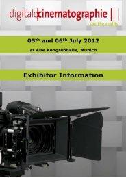 of April 2012 - Digitale Cinematographie