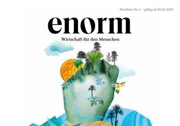 Preisliste Nr. 1 – gültig ab 01.01.2010 - Enorm