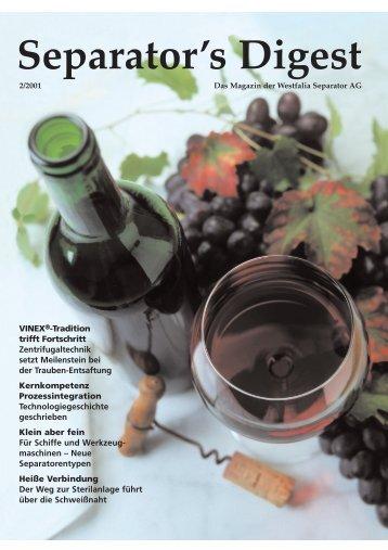 Separator's Digest 2001/2 - GEA Niro Soavi