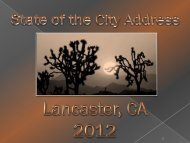 5% 95% Lancaster Households Receiving Section 8 Assistance ...