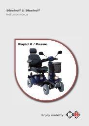 Bischoff & Bischoff Instruction manual Rapid 2 / Paseo