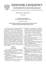 Uchwała Nr XLII/361/12 z dnia 22 czerwca 2012 r. - Plany ...