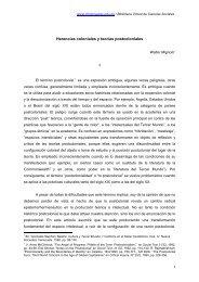 Herencias coloniales y teorías postcoloniales - Cholonautas