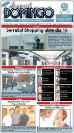 1 SerraSul Shopping abre dia 16 - Jornal Domingo