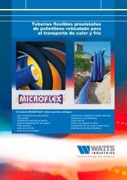 Tuberías flexibles preaisladas de polietileno ... - Watts Industries