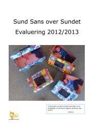 Sund Sans over Sundet evaluering 2012/2013