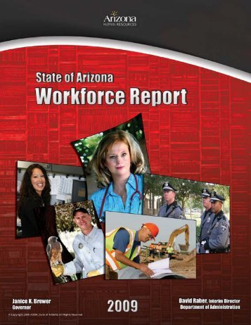 2009 Annual Workforce Report - Arizona Human Resources