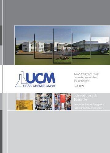 Lohnfertigung als Strategie - Ursa Chemie GmbH