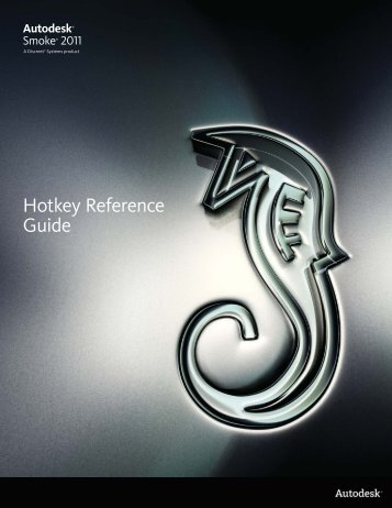 Hotkey Reference Guide - Autodesk
