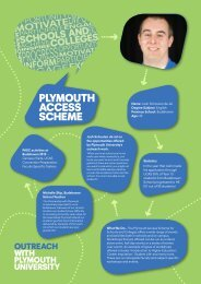 FACE Posters - Plymouth University