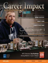 Career Impact - Wisconsin Indianhead Technical College