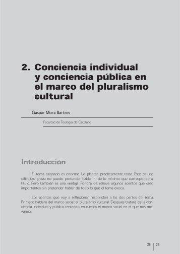 conciencia individual y conciencia pública en el marco del ...