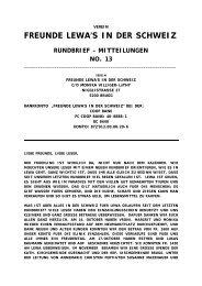 Rundbrief Nr. 13 vom April 2010 - Lewa Schweiz