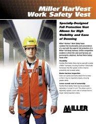 Miller HarVest Work Safety Vest - Miller Fall Protection