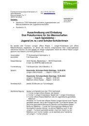 Ausschreibung Pokal 2er 2010 - Tischtennis-Kreisverband ...