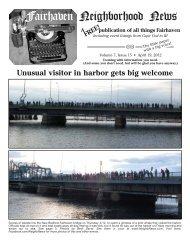 Earth Day - Fairhaven Neighborhood News