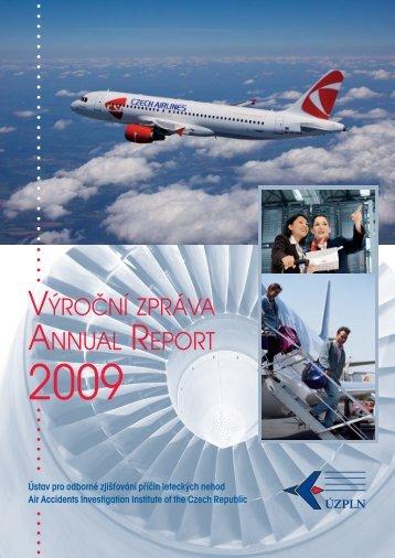 annual report - Ústav pro odborné zjišťování příčin leteckých nehod