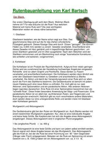 Rutenbauanleitung von Karl Bartsch - Thymalus.de