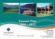 Council Plan 2008 - 2012 - South Gippsland Shire Council