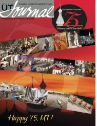 PRESIDENT'S ANNUAL REPORT - The University of Tampa