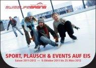 SwissLifeArena Broschüre - Text Pistols